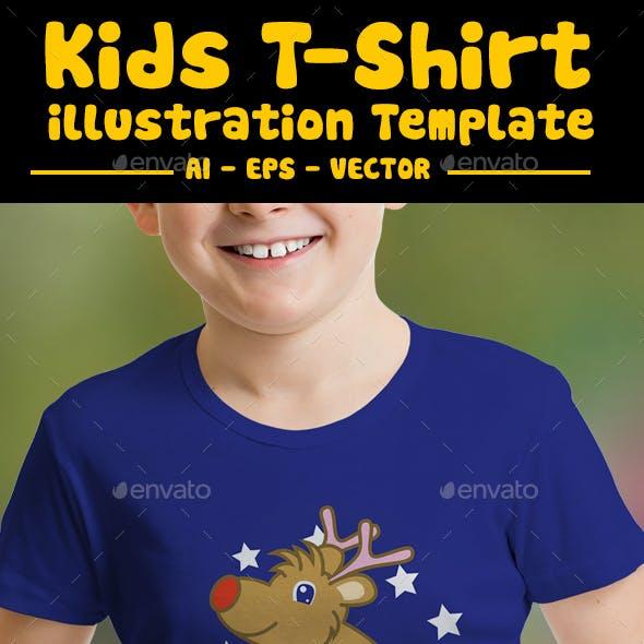 Christmas T Shirt Design Kids