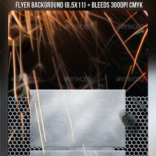 Metal Flyer Background