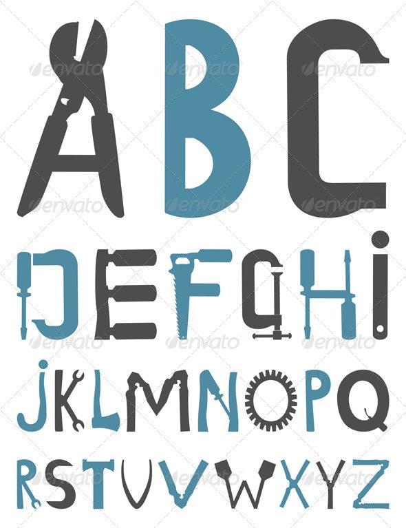 Alphabet - Miscellaneous Vectors