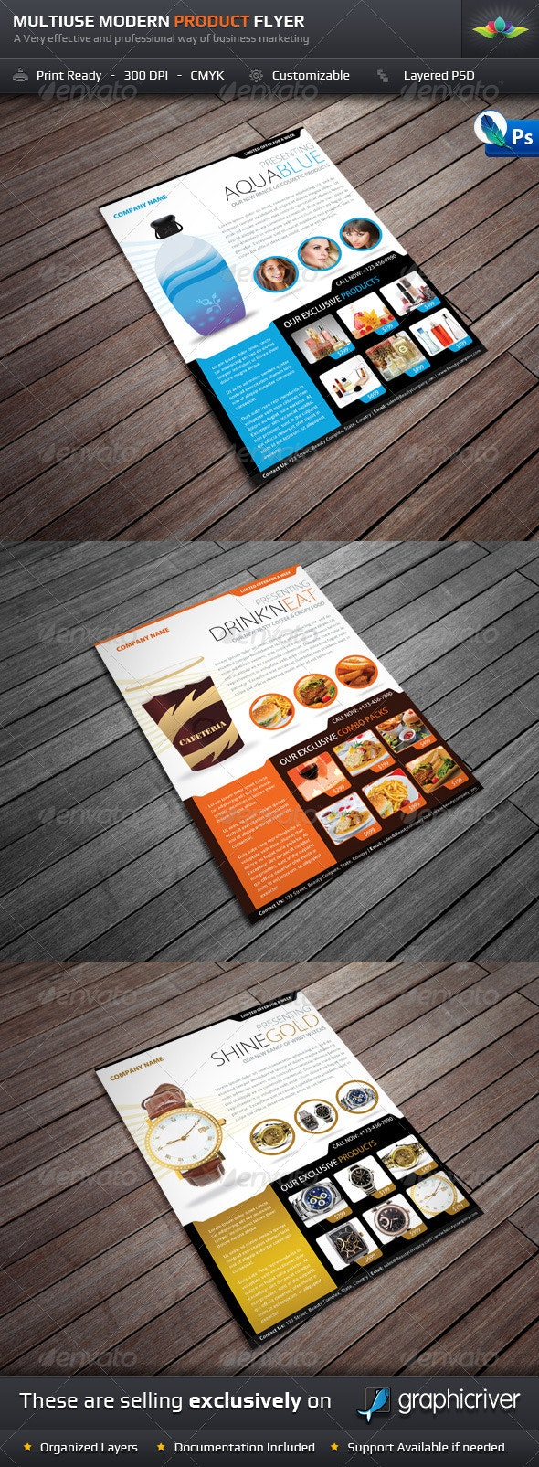 Multiuse Modern Product Flyer - Commerce Flyers