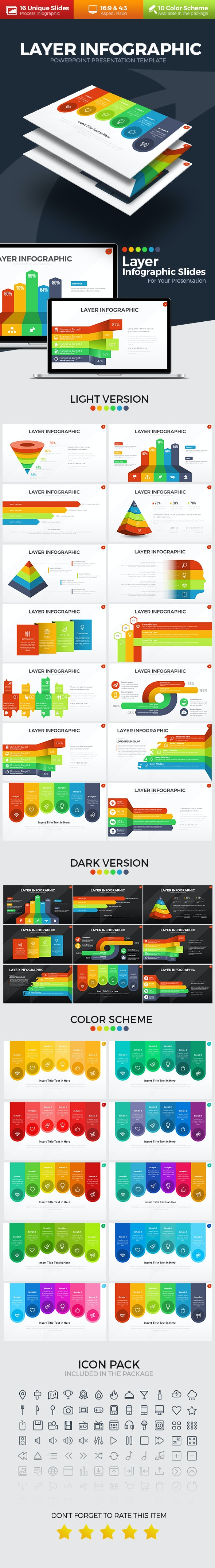 Layer Infographic PowerPoint Template - Business PowerPoint Templates