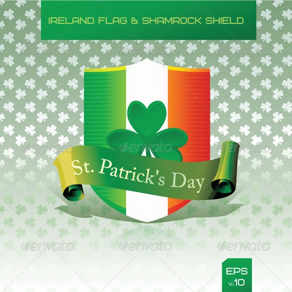 Saint Patrick's Day - Decorative Vectors