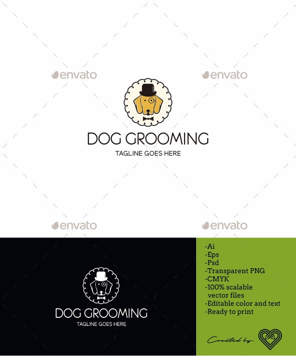 Dog Grooming - Animals Logo Templates