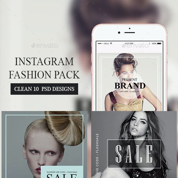 Fashion Instagram Banners