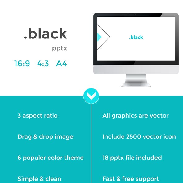 black- Business Presentation Template