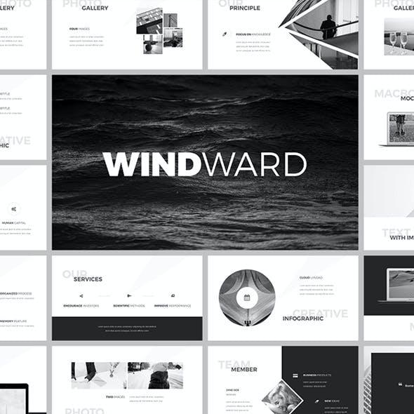 WindWard Keynote Template
