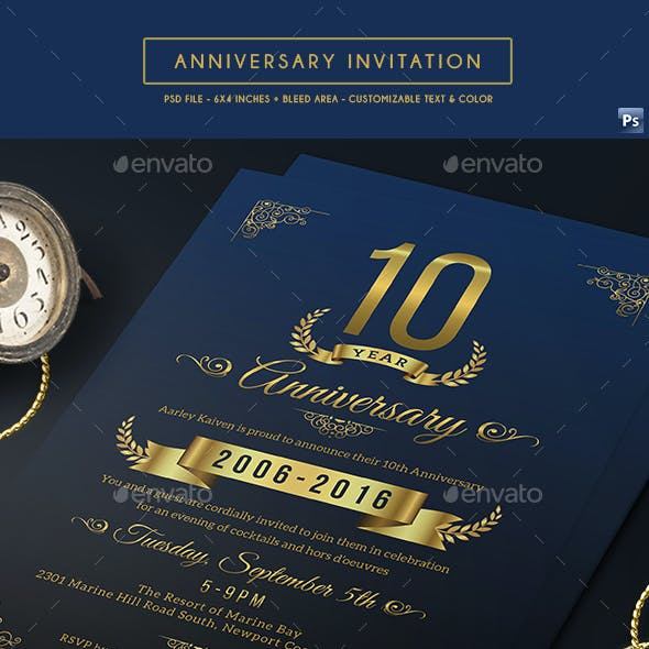 Card Designs Invite Templates From Graphicriver
