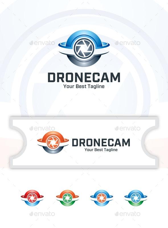 Drone Camera - Logo Template - Objects Logo Templates