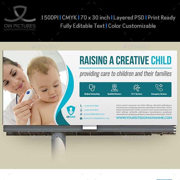 Pediatrician Billboard Template