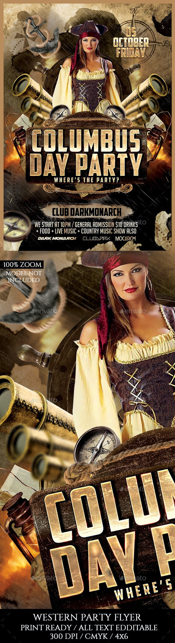 Columbus Day - Clubs & Parties Events