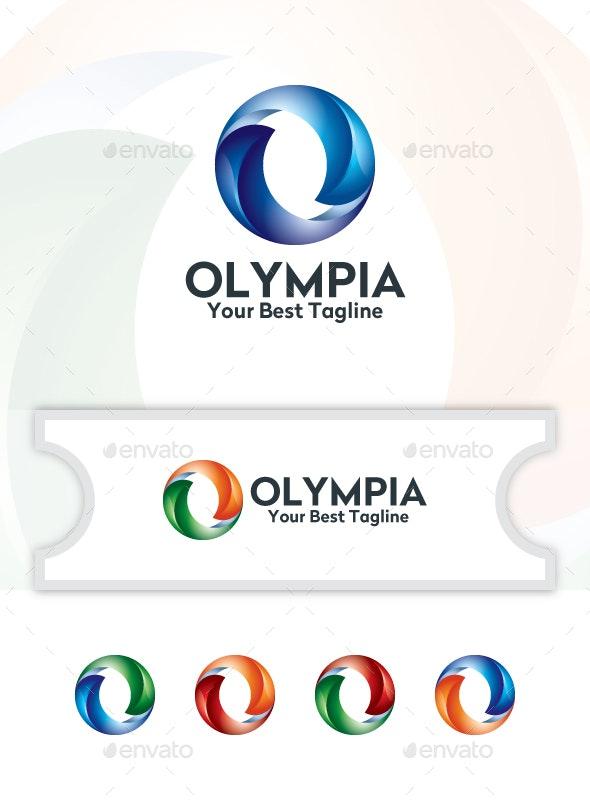 Olympia - Logo Template - Logo Templates