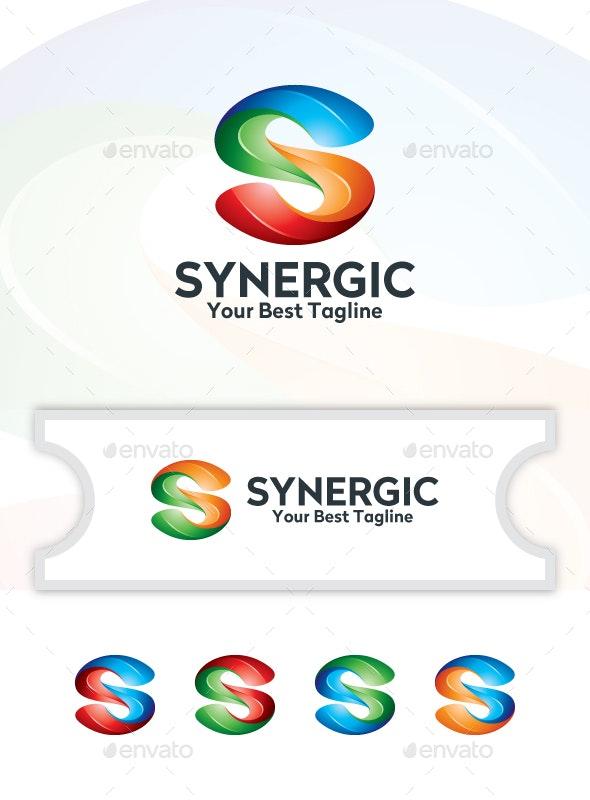 Synergic - Logo Template - Logo Templates