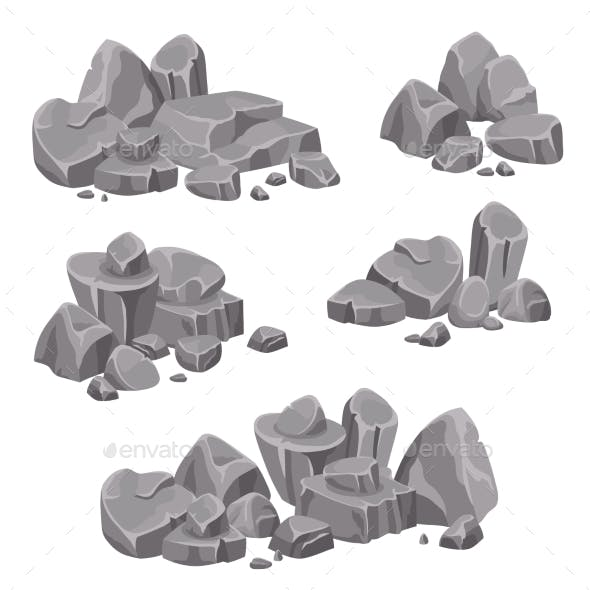 Design Groups of Rocks and Stone Boulders