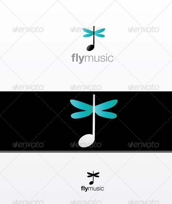 FlyMusic - Vector Abstract