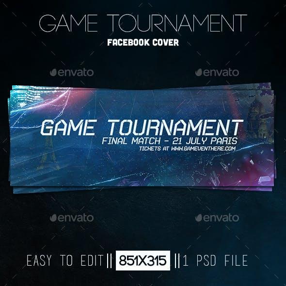 Game Tournament Facebook Cover