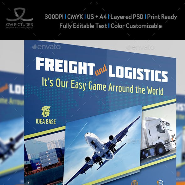 Freight / Shipment Services Flyer Vol.2