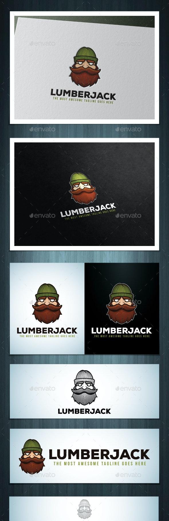 Lumberjack Logo - Humans Logo Templates
