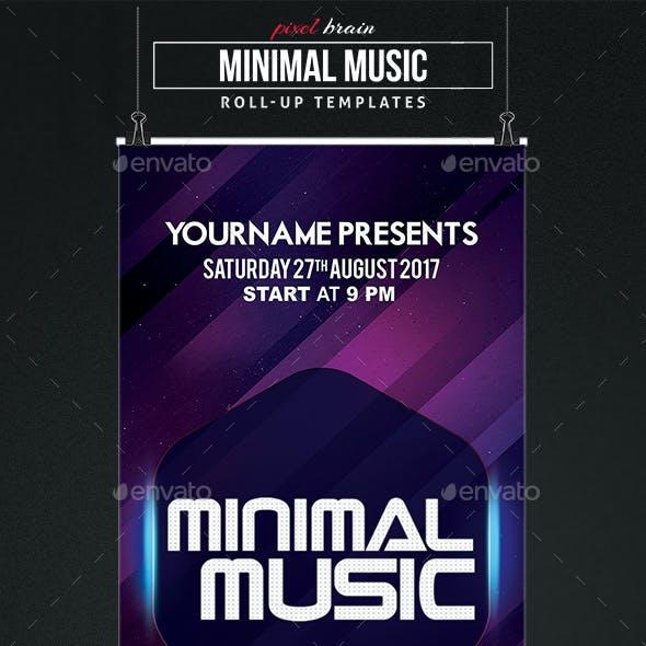 Minima Music Roll-Up Templates Vol. 1