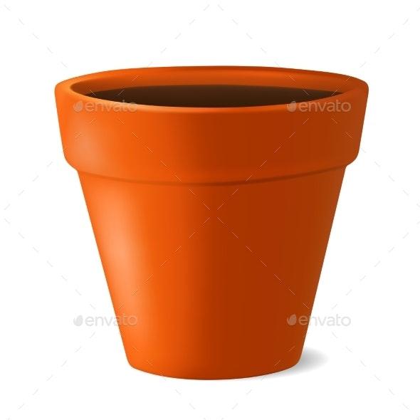 Flowerpot - Man-made Objects Objects