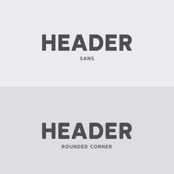 Header Font