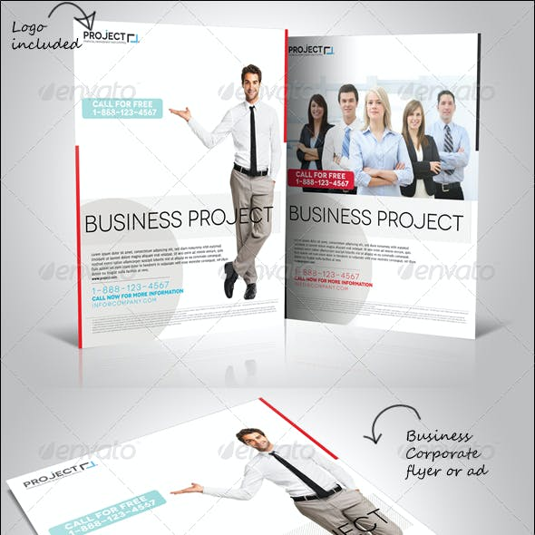 Business Corporate Flyer or Ad
