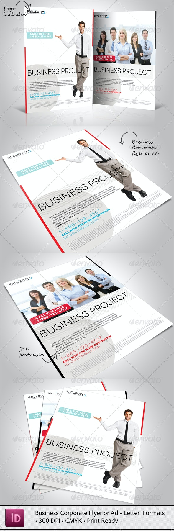 Business Corporate Flyer or Ad - Corporate Flyers