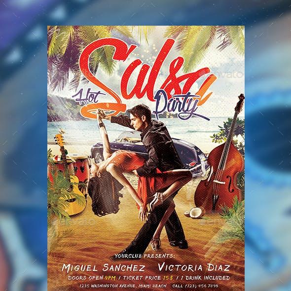 Salsa Party Flyer