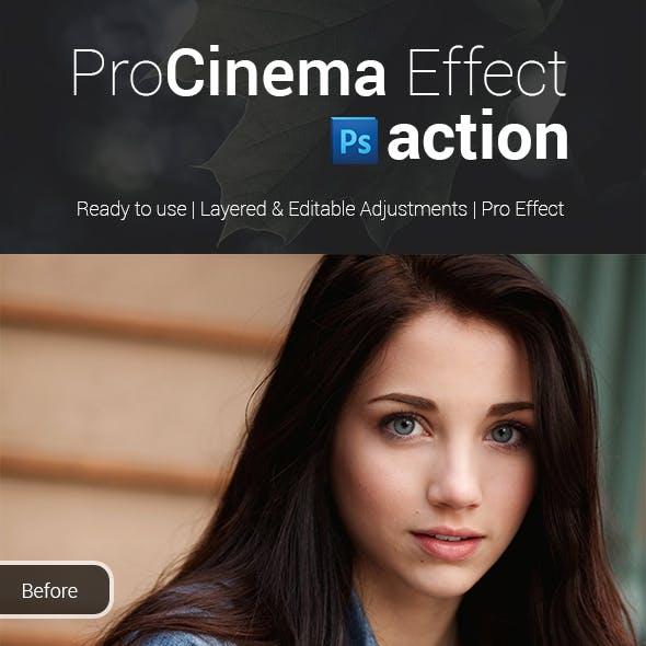 ProCinema Effect Photoshop Action