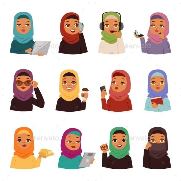 Arabic Woman Set