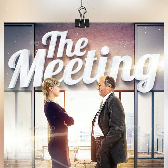 The Meeting Flyer Template