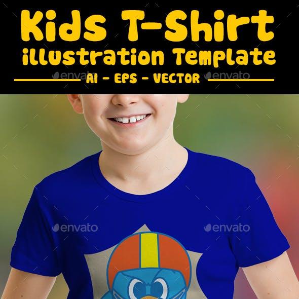 Playing Kids T-Shirt Design