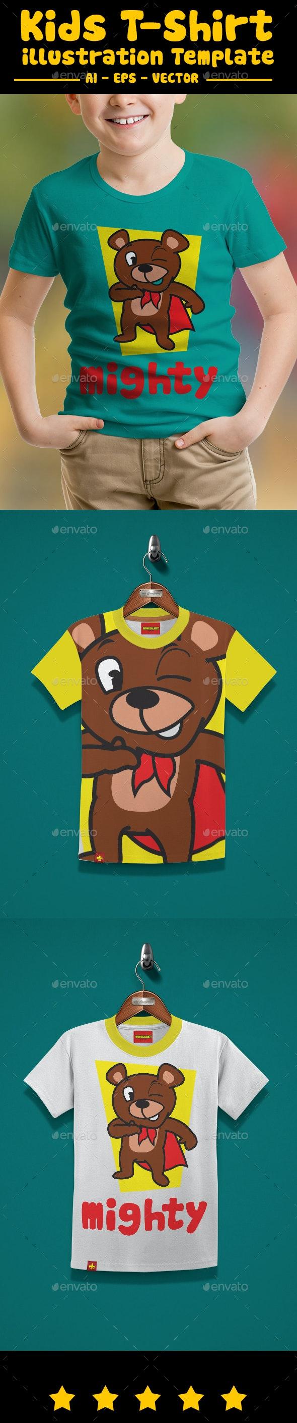 Mighty Kids T-Shirt Design - T-Shirts