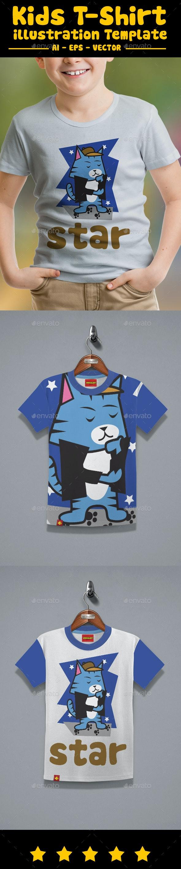 Boy Kids T-Shirt Design - T-Shirts