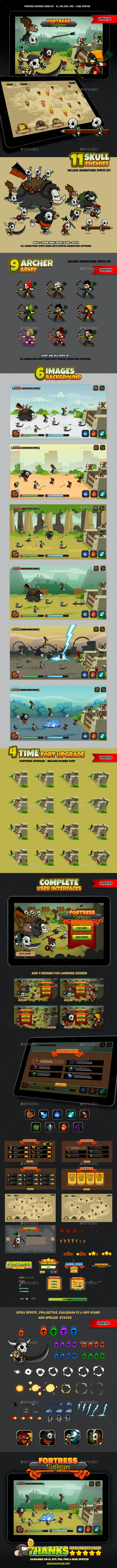 Fortress Defense - Game Kits Game Assets