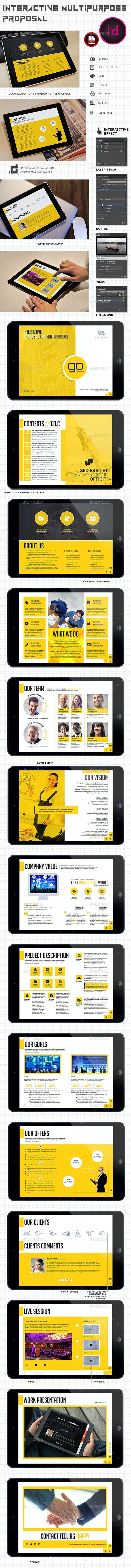 Interactive Multipurpose Proposal - Digital Books ePublishing