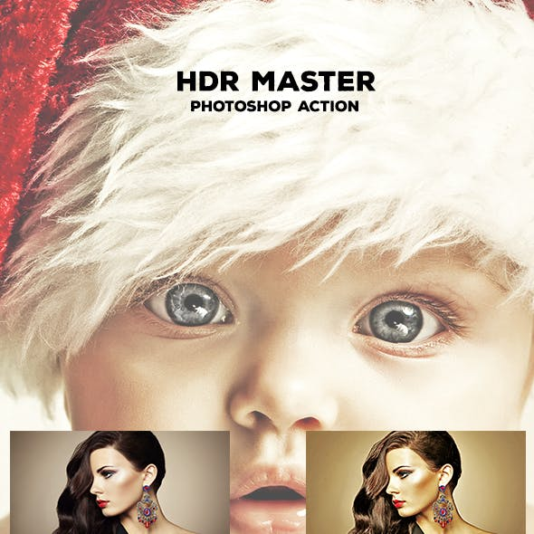 HDR Master - Photoshop Action #09