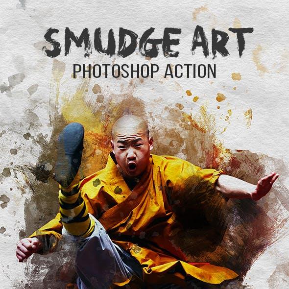 Smudge Art Photoshop Action