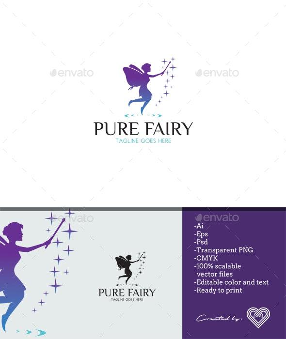Pure Fairy - Nature Logo Templates