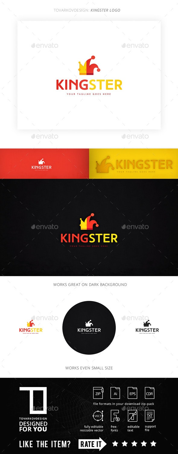 Kingster Logo Template - Objects Logo Templates