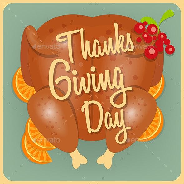 Turkey Thanksgiving Day - Miscellaneous Seasons/Holidays