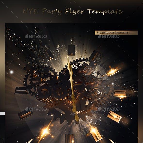 NYE Party Flyer Template V4