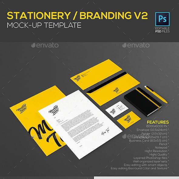 Stationery / Branding Mock-Up V2