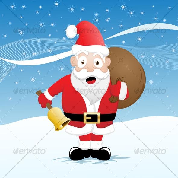 Funny Santa - Christmas Seasons/Holidays