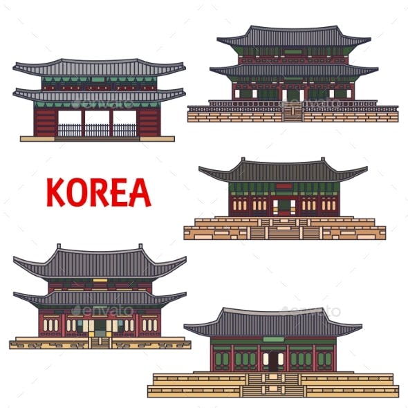 Historic Temples And Architecture Of Korea