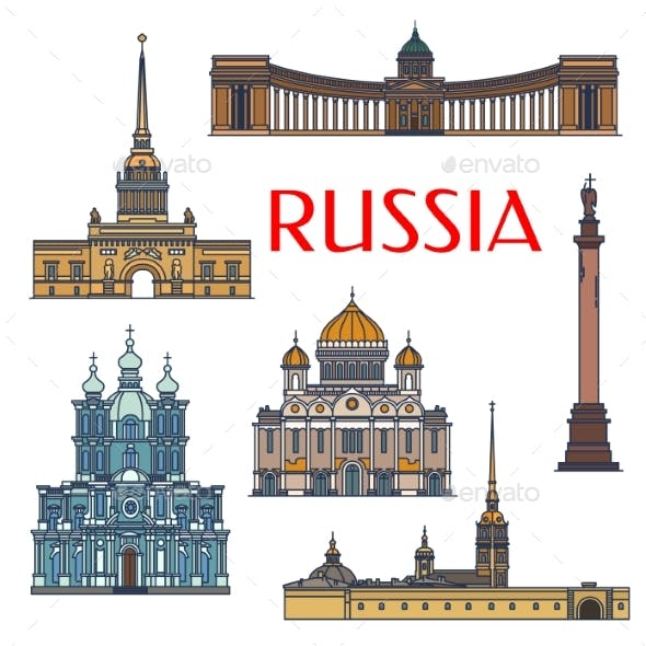 Historic Buildings And Architecture Of Russia