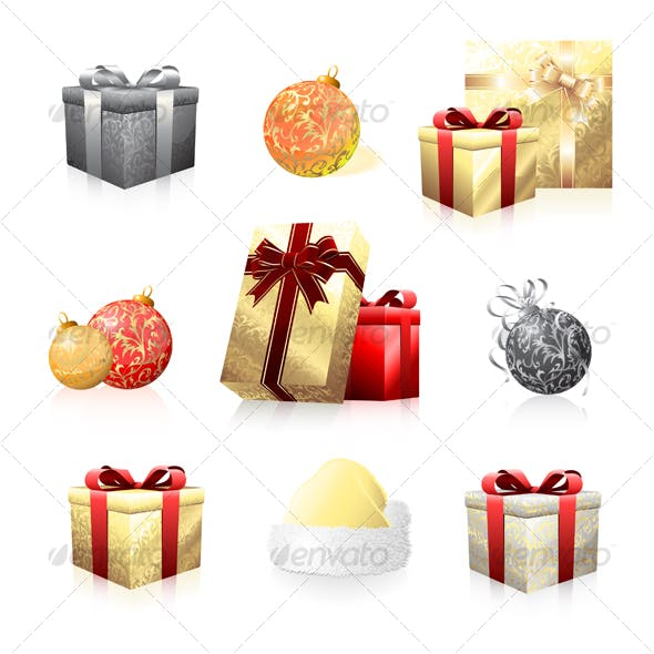 Holiday icon collection