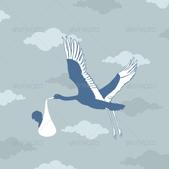 Stork - Animals Characters