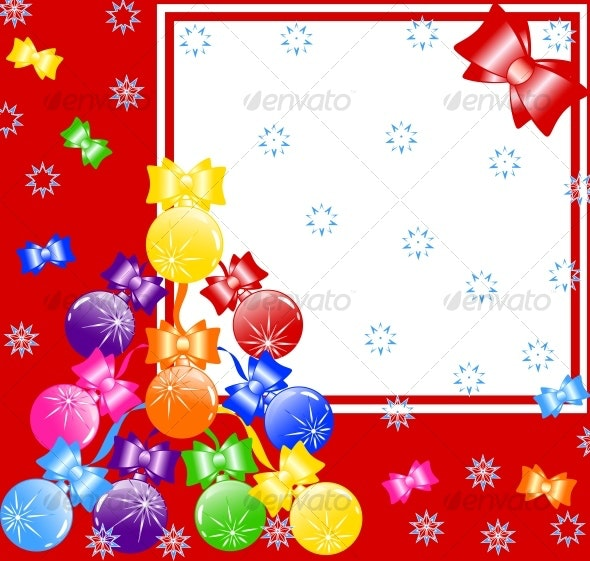 vector illustration of a Christmas background - Christmas Seasons/Holidays