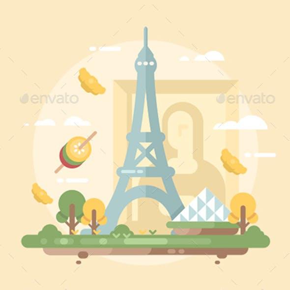 Paris Design Flat