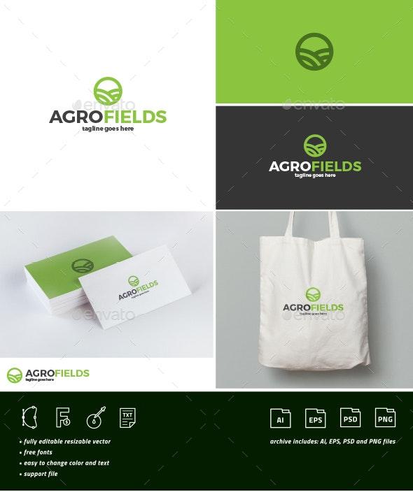 Agro Fields Logo - Nature Logo Templates